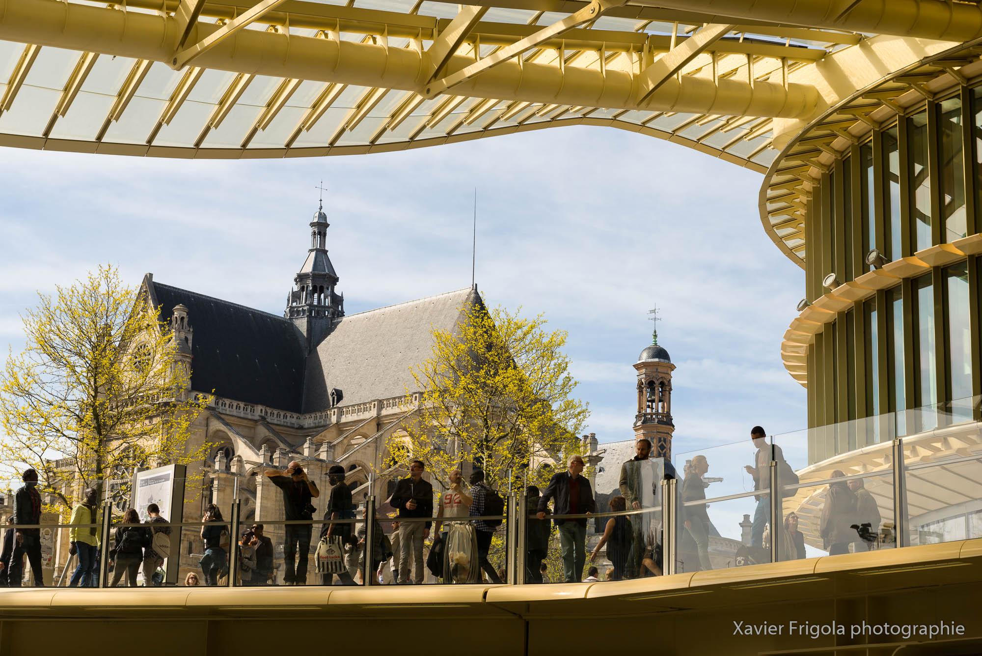 Nouveau forum des Halles et sa Canopée