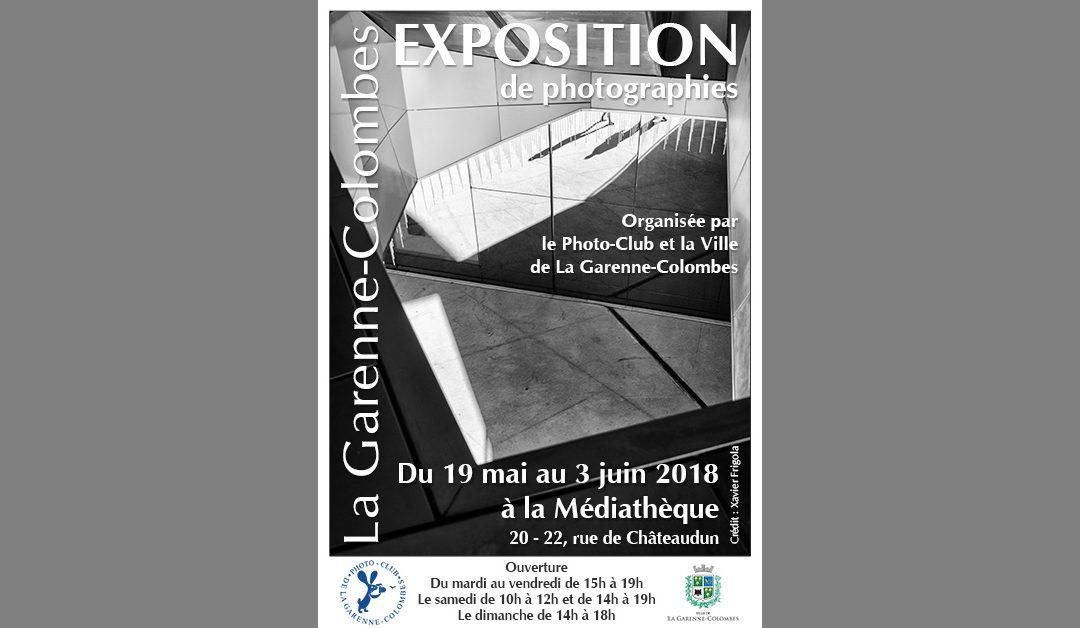Exposition photos 2018 du Photo-club de La Garenne-Colombes