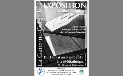 Exposition photos 2018 du Photo-club de La Garenne-Colombes